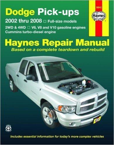 Dodge Pickup Reparaturanleitung 2002-2008