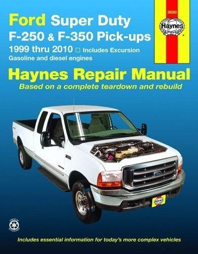 Ford Excursion F250 F350 Super Duty Reparaturhandbuch